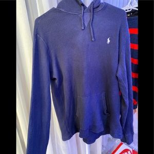 Polo Ralph Lauren thermal hoodie shirt